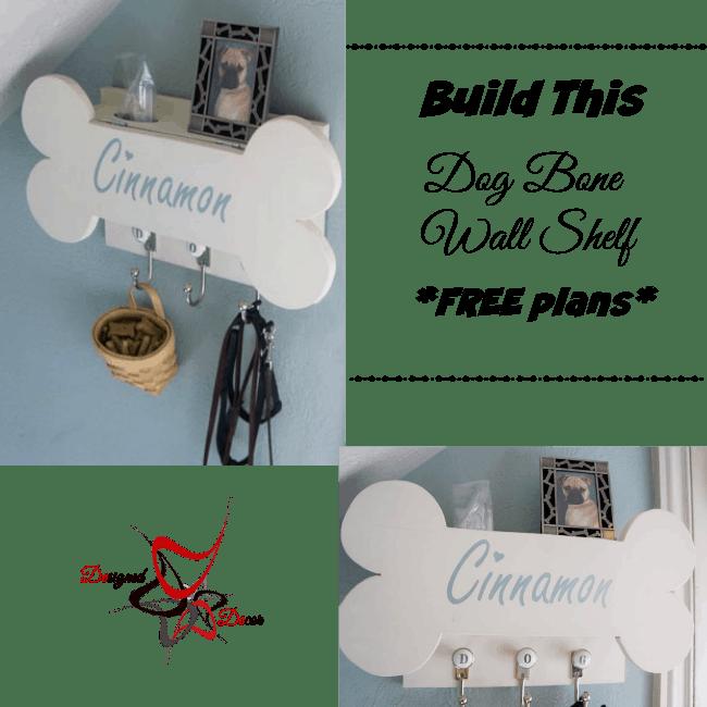 Dog Bone Wall Shelf - RyobiNation - Dog Days of Summer-Giveaway