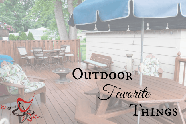 Outdoor Favorite Things