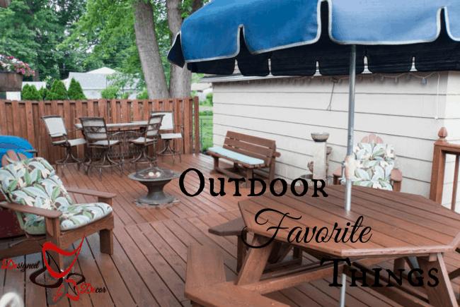 Outdoor Favorite Things