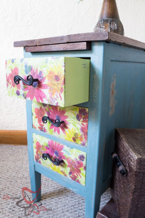 Reclaimed Wood Top Nightstand-12