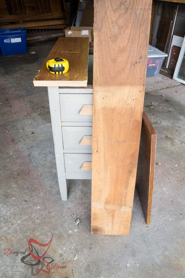 Reclaimed Wood Top Nightstand-2