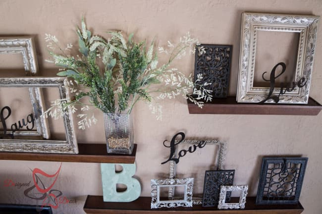 How to Decorate a Large Wall on Thrift Store Budget (5 of 9)