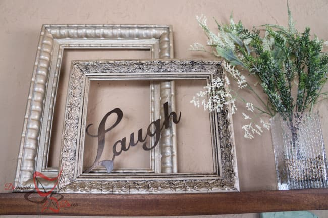How to Decorate a Large Wall on Thrift Store Budget