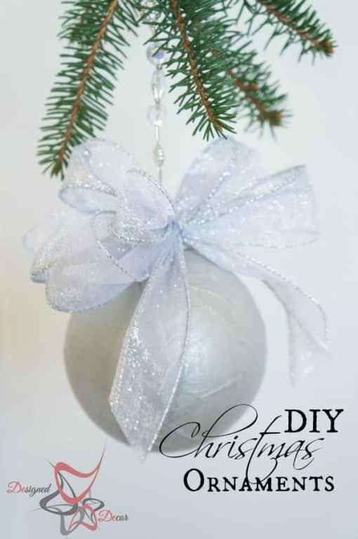 Paper Mache Ornaments~Christmas Decorating on a Budget – Part 1-!