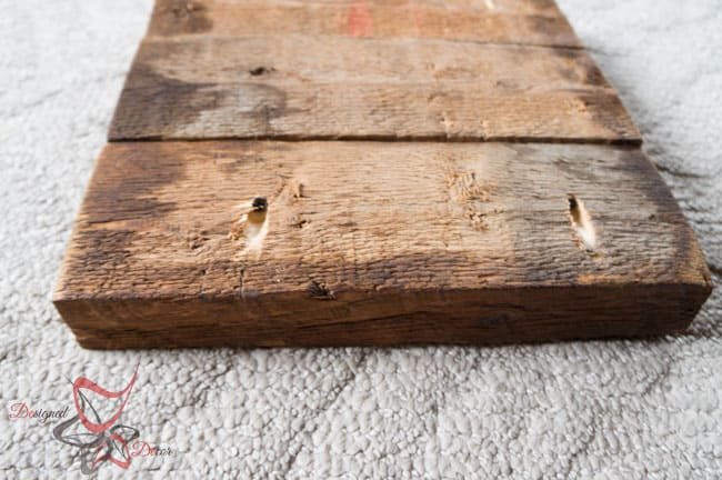 DIY-Wood Block Metal Snowflake - Holiday Decor- Wall Decor- (1 of 13)
