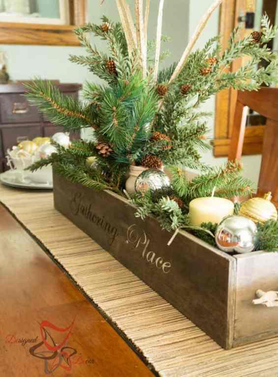 Christmas Centerpiece on a Budget!