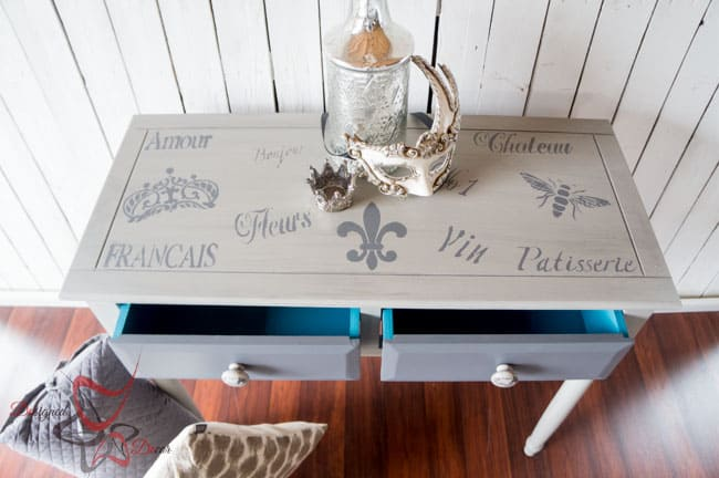 French-Stenciled-Entry-Table-Painted- Furniture (12 of 12)