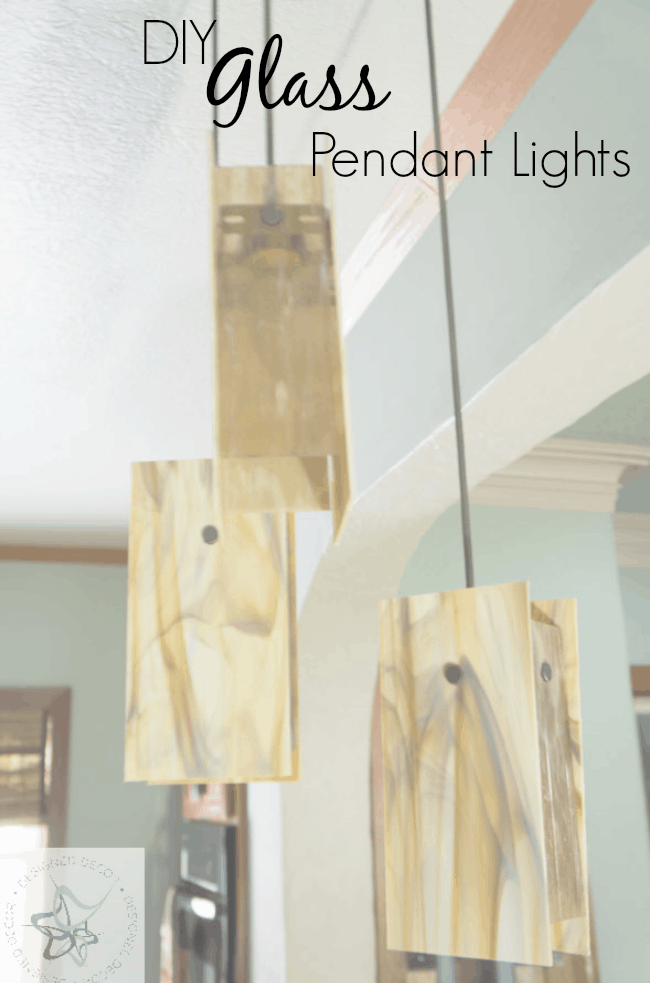 DIY-Glass-Pendant Lights