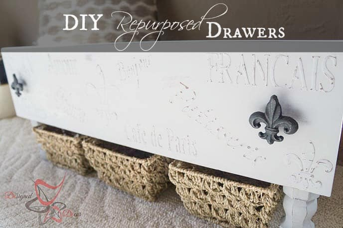 Storage Drawers-DIY- Repurposed