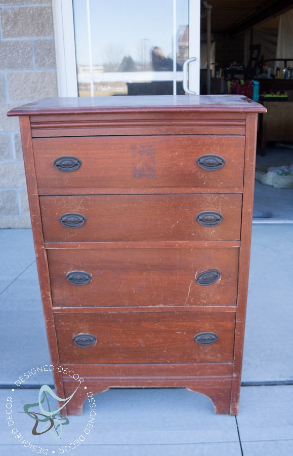 Textured-WallPaper-Dresser- GeneralFinishes- #Sponsor-Painted Furniture (1 of 20)