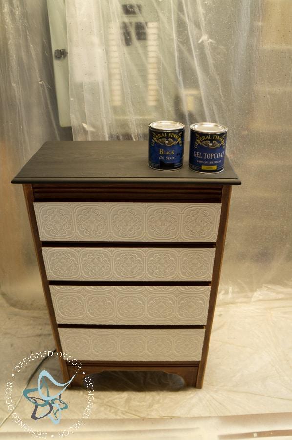 Textured-WallPaper-Dresser- GeneralFinishes- #Sponsor-Painted Furniture (7 of 20)