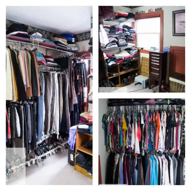 closet makeover-before