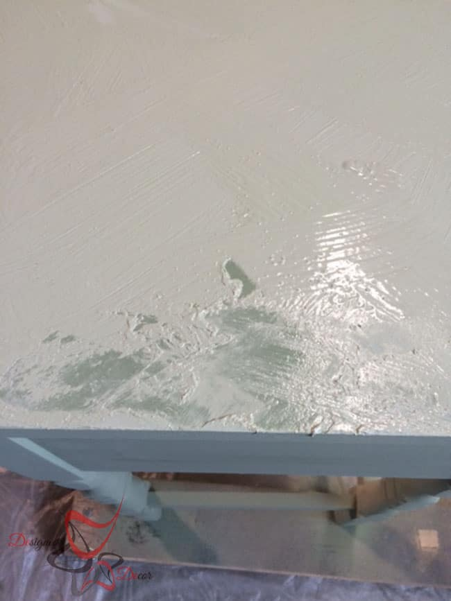 La Chaux-French Lime Paint-Printemps-Desk Makeover