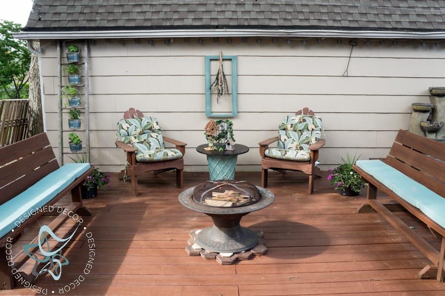 Beautiful Repurposed Electric Spool Table 8