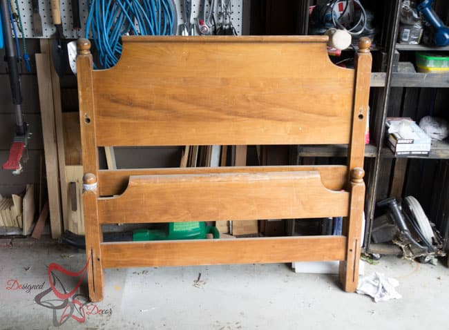 Repurposed-Headboard-Bench-Unicorn Spit- Maison Blanche (1 of 8)
