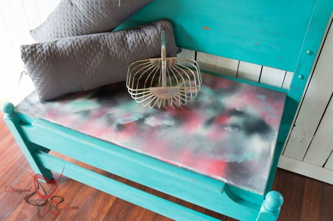 Repurposed-Headboard-Bench-Unicorn Spit- Maison Blanche (4 of 8)