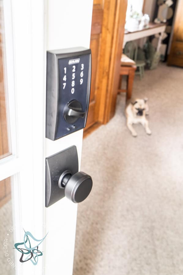 Schlage 174 Keyless Locks Designed Decor