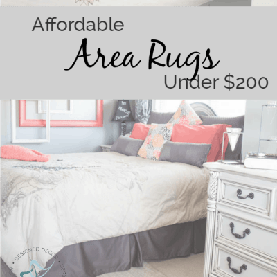 Afforable Area Rugs under $200!