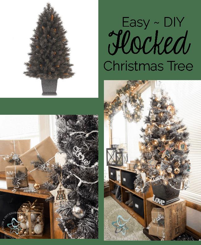 easy-diy-flocked-christmas-tree