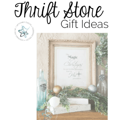 Last Minute Thrift Store Gift Ideas!