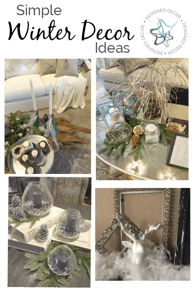 Simple Winter Decorating Ideas Designed Decor