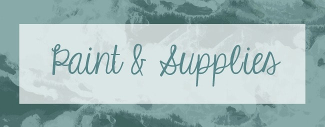 Favorite Resources-paint supplies