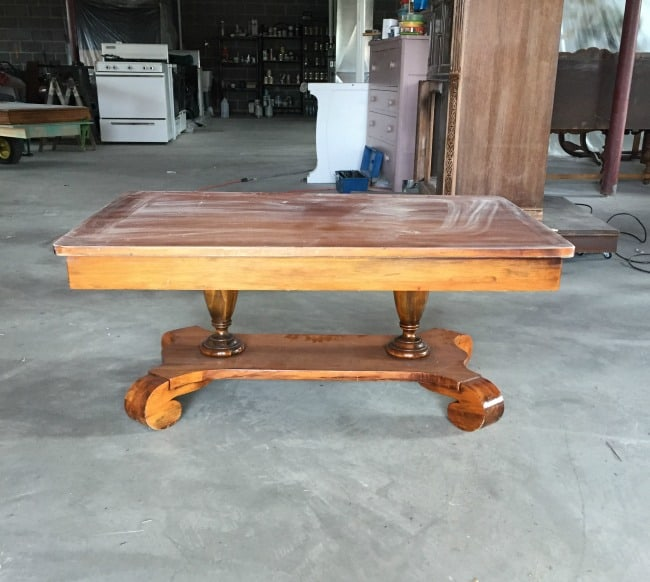 coffee table- before