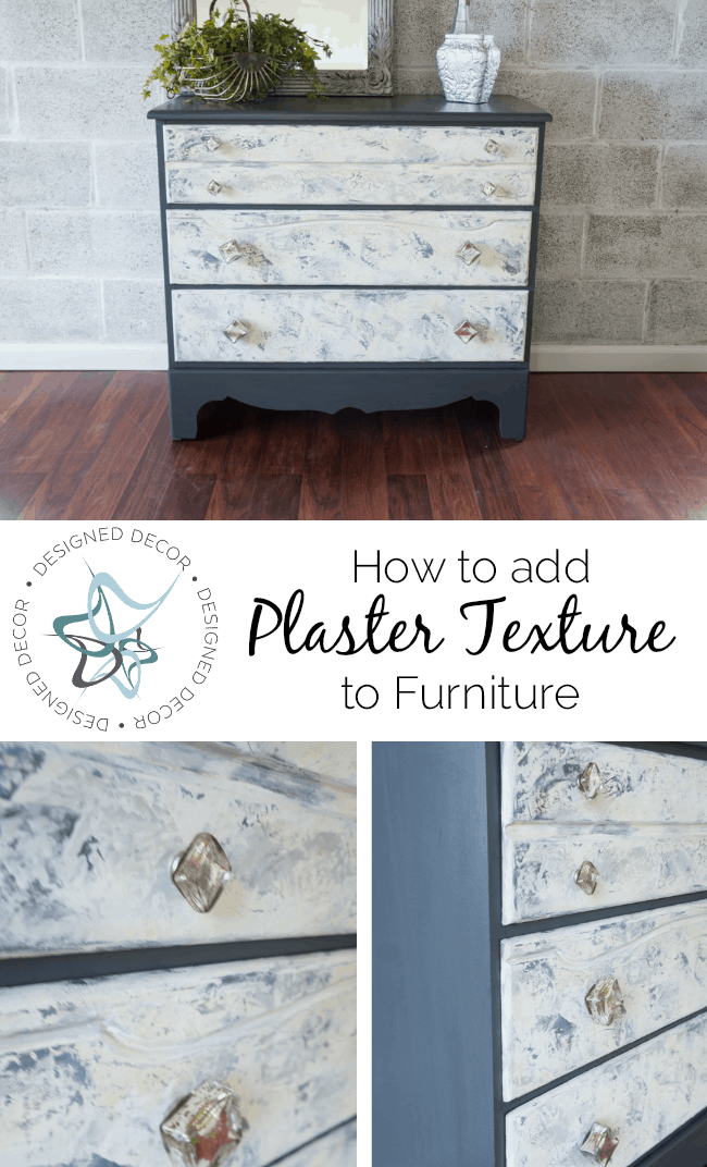 How to add Plaster Texture to furniture
