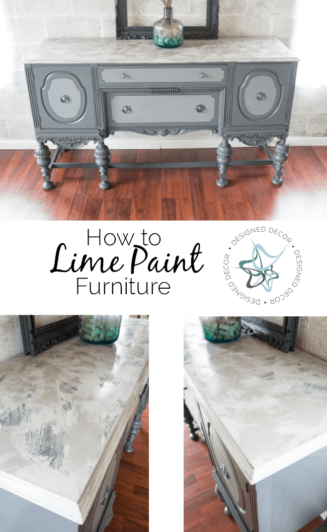 How to lime paint furniture
