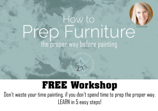 How to prep furniture- Free Workshop- Designed Decor 326x228