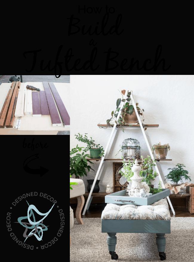 settee bench kinfine walmart tufted velvet furniture bedroom usa storage small