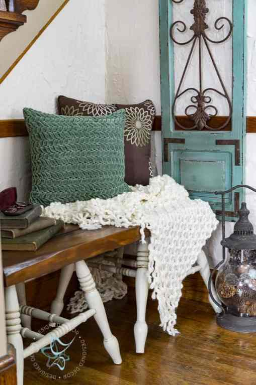 How to Build a Repurposed Chair Leg Bench the easy way!