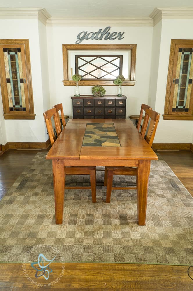 Upholstered wood dining chairs designed decor - All wood dining room table ...