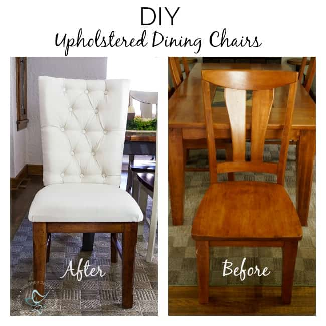 Upholstered Wood Dining Chairs