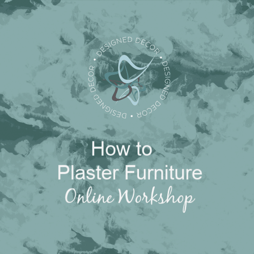 how to plaster furniture graphic