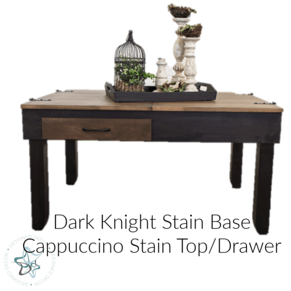jigsaw puzzle table with decorative accessories
