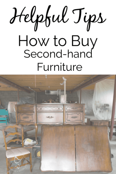 Helpful Tips to Easily Buy Second-hand Furniture like a Pro