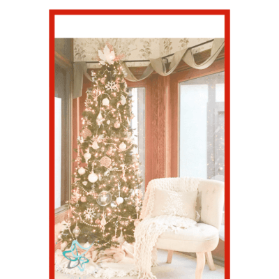 Buy or DIY Thrifty Christmas Tree Decorating