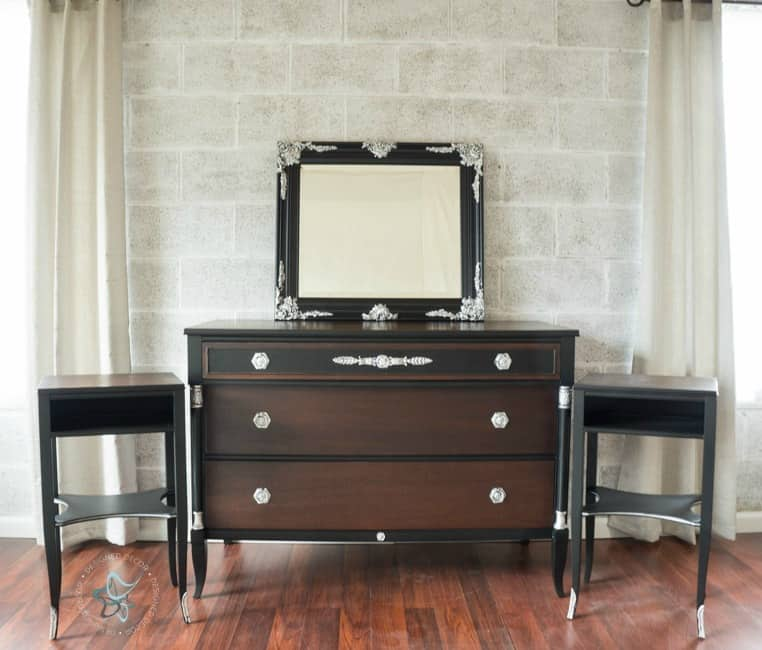 Dresser makeover with General Finishes products