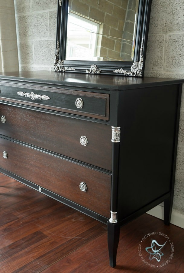 neoclassical dresser makeover