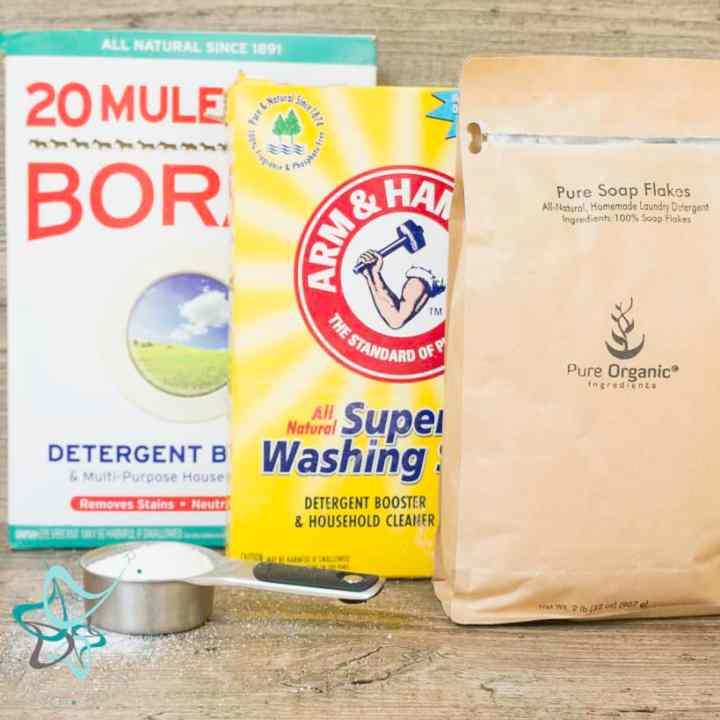 How to Make Liquid Laundry Detergent!