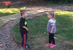Kids in Yard