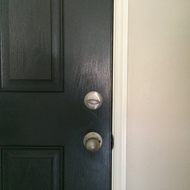 painted front door mark twain gray brick