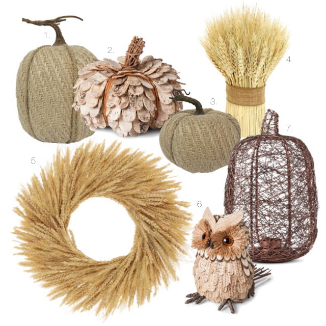 fall decor at target