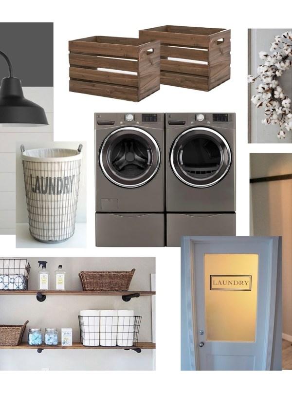 Laundry Room E-Design