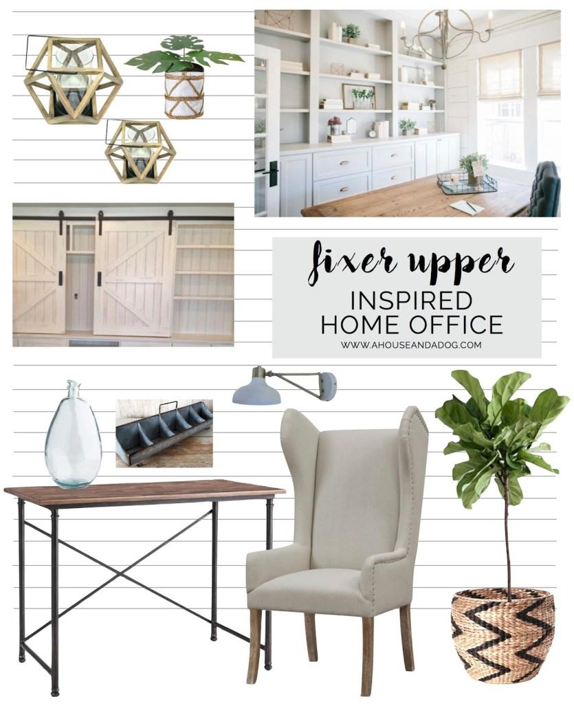 Fixer Upper Inspired Office