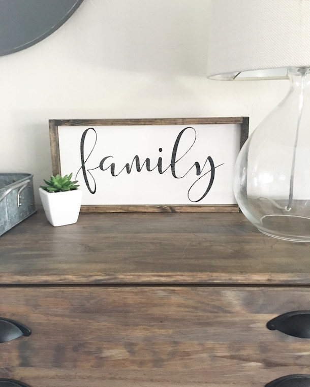 Decorating with Wood Signs!