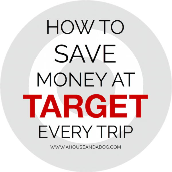 Tips on How to Save Money at Target EVERY trip!