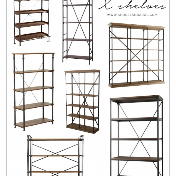 Top X-back shelving choices for your home!