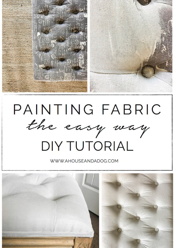Painting Fabric, The Easy Way – ORC Week 3